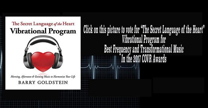 The Secret Language of the Heart Vibrational covr2